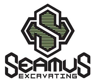 Seamus Excavating Logo